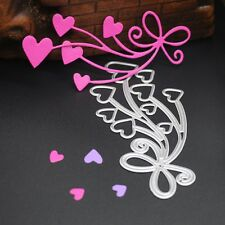 Hearts Metal Cutting Dies Stencil Scrapbooking Paper Card Craft Embossing DIY