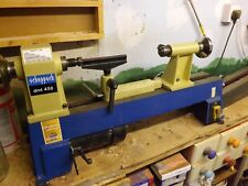 scheppach DMT450 WOODTURNING LATHE with chuks and bits