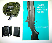 The M1 GARAND: OWNER'S GUIDE PACKAGE w/sling and enbloc clips lot-All U.S. Made