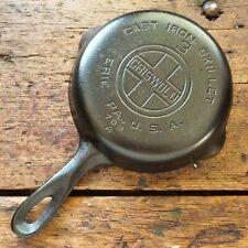 Vintage GRISWOLD Cast Iron SKILLET Frying Pan # 3 LARGE BLOCK LOGO - Ironspoon
