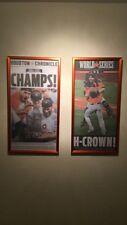 Framed Houston Chronicle Newspaper Astros World Series Edition (Nov. 2) NEW!