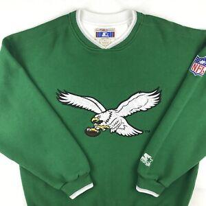 vintage 90s PHILADELPHIA EAGLES STARTER SWEATSHIRT LARGE sweater nfl football