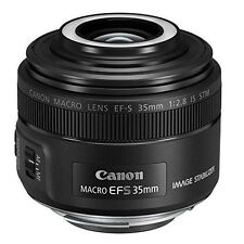 CANON Single Focus Macro Lens EF-S35mm F2.8 IS STM APS-C from Japan New New