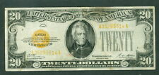 $20.00 Gold Certificate, 1928, Fr. #2402, Xf heavy vertical crease,