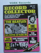 RECORD COLLECTOR MAGAZINE - Issue 94 June 1987 -  Beatles / Eric Clapton / Cult