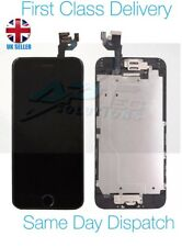 Original Apple iPhone 6 Black LCD Screen with Speaker, Camera and Adhesive