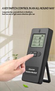Portable Radioactivity Ultraviolet Radiation Detector Dosimeter Monitor Outdoor