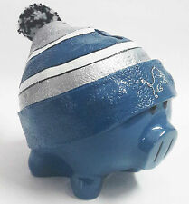 NFL Detroit Lions Sparschwein Fan Spardose Football Thematic Hat Piggy Bank Sale