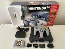 Nintendo 64 N64 Console Boxed Goldeneye 007 PAL CLEANED AND TESTED VGC