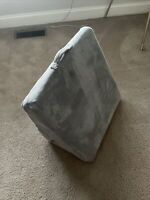 BROOKSTONE Bed WEDGE Nap PILLOW 4 In 1 TAUPE BEIGE Multi position NEW IN BOX