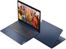 "Lenovo IdeaPad 3 15.6"" Laptop, i3-1005G1, 8GB RAM 256GB SSD Windows 10 Blue"