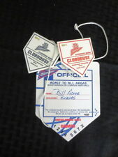1998 NLCS Atlanta Braves Press Pass Media Badges vs Padres