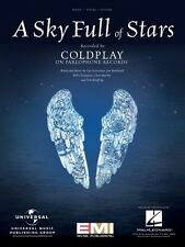 A Sky Full of Stars Sheet Music Piano Vocal Book Coldplay NEW 000130718