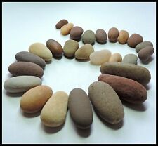 Beach Stones for crafting, mosaics, collages, jewelry making 26 pebbles/ B90
