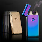USB Rechargeable Windproof Flameless Electric ARC Pulse Cigarette Lighter