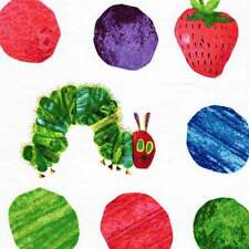 """ANDOVER """"THE VERY HUNGRY CATERPILLAR"""" BIG DOTS Multi by yard"""