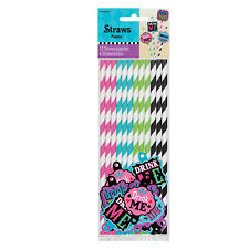 Mad Hatter Alice in Wonderland Tea Party Theme Afternoon Tea Drink Me Straws