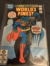 WORLD'S FINEST #283  DC COMICS 1982 - NEWSSTAND