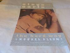 STEVE EARLE - Publicité de magazine / Advert THE HARD WAY !!!!!!!!!