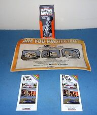 Collectible 2 U Haul Safe Move Brochures &10 In-Town Brochures and Counter Mat