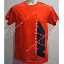 """""""IN STOCK"""" AUTHENTIC AEM APPAREL SIDEWAYS LOGO T-SHIRT RED - SIZE- XXX-LARGE"""