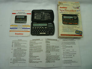 Retro Franklin Spellmaster Plus SPQ-106 1997 In Original Box