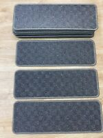 14 Carpet Stair Pads Treads Step Staircase Stain Free  61cm x 21cm