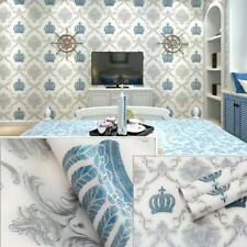 Peel and Stick Wallpaper Removable Damask Contact Paper Adhesive Shelf Liner 10M