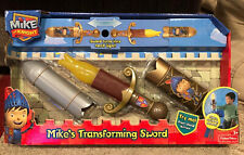 Fisher-Price Mike the Knight Toy: Mike's Magical Transforming Sword: Light Torch