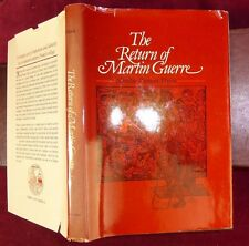 RETURN of MARTIN GUERRE by NATALIE ZEMON DAVIS/FRANCE/ILLUSTRATED/1983 1st