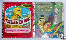 Little Golden Books SESAME STREET Big Bird and Bert & Ernie - Lot of 2 Books