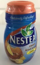 Nestea Sweet Iced Tea Lemon Mix 45.1 oz Discontinued 20 Quarts Fast Shipping