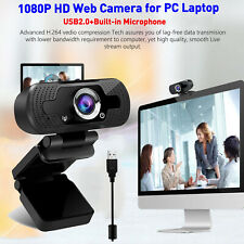 Auto Focus1080P HD USB Webcam Camera Video Recording Web Camera+Mic For Computer
