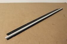 Audi A6 right rear door window outer lower trim & seal 4B0853764M 2ZZ New