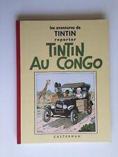 TINTIN AU CONGO FAC SIMILE N&B / BD 1995 / HERGE / CASTERMAN