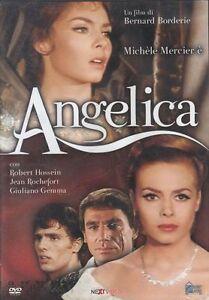 Dvd **ANGELICA** con Michele Mercier Robert Hossein Giuliano Gemma nuovo 1964