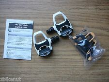 Shimano PD-R540 Light Action SPD-SL Road Bike Clipless Pedals w/Cleats White New