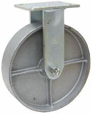 "4"" x 2"" Rigid Steel Plate Caster 1-1991-R"