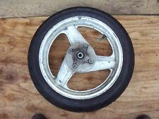 HONDA CB400 SF SUPER 4 REAR WHEEL AND GOOD TIRE 17 X 4.00  56P