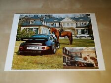EVEX Porsche 911 RS3 Turbo leaflet/brochure/folder