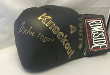 Archie Moore Signed Autographed Ringside Boxing Glove COA