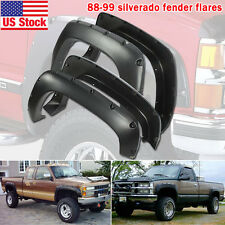 88-98 Chevy Silverado GMC C/K 1500 Pick Up Pocket Rivet Bolt-On Fender Flares