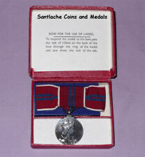 1953 OFFICIAL QUEEN ELIZABETH II CORONATION MEDAL - Ladies Boxed Original