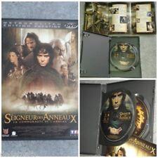 double DVD film Le Seigneur des Anneaux la communauté de l'anneau