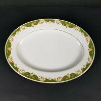 "Fine China of Japan Style House Kimberly Pattern Oval Serving Platter 12"" Plate"
