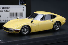TOYOTA 2000GT **Bellatrix Yellow** -- HPI #8374  RESIN 1/43