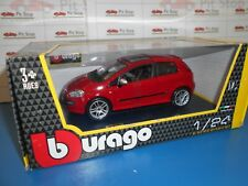 BBU1822118 by BBURAGO FIAT PUNTO EVO RED 2010 1:24