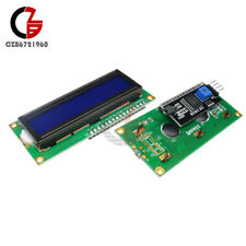 2PCS 1602 16X2 LCD Module IIC/I2C/TWI/SPI Serial Interface Blue LCD Display