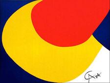 Alexander CALDER Braniff Airlines Convection Original 1974 Lithograph Art