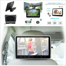 10'' Car Headrest Monitor DVD Player USB/SD/HDMI/FM/Game Rear-Seat Entertainment